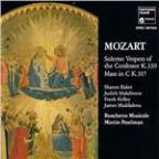 Mozart: Solemn Vespers Of The Confessor, Etc / Pearlman