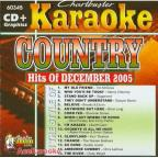 Karaoke: Country Hits Of December 2005