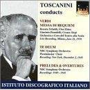 Verdi: Messa di Requiem; Te Deum; Preludes & Overtures