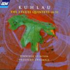 Kuhlau: The 3 Flute Quintets / Stinton, Prospero Ensemble