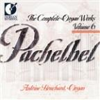 Pachelbel COMPLETE ORGAN WORKS Vol. 6