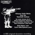 Virtuoso Violin Works - 20th Century