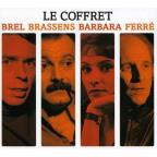 Brel/Brassens/Barbara/Ferre: The Boxset