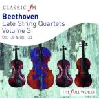 Beethoven: Late String Quartets, Vol. 3