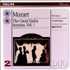 Mozart: Great Violin Sonatas, Vol. 1