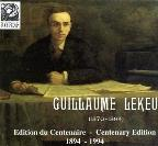Guillaume Lekeu Centenary Edition