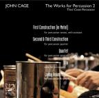 Cage: The Works for Percussion, Vol. 2