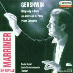 Gershwin: Rhapsody in Blue, etc. / C. Ousset, N. Marriner