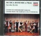 Lieder From The Baroque Era In Bohemia / Musica Bohemica