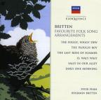 Britten: Favorite Folk Song Arrangements
