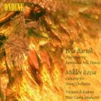 Bartok: Divertimento; Romanian Folk Dances; Rozsa: Concerto for String Orchestra