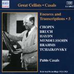 Casals Encores & Transcription