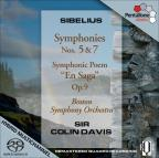 Sibelius: Symphonies Nos. 5 &amp; 7; En Saga