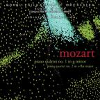 Mozart: Piano Quartet No. 1; Piano Quartet No. 2