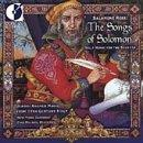 Rossi: The Songs of Solomon Vol 1 - Music for Sabbath