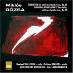 Rózsa: Concerto For Cello And Orchestra; Sinfonia Concertante