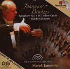 Brahms: Symphony No. 1 in C minor; Haydn Variations