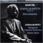 Bartók: String Quartets 1 - 6/Divertimento