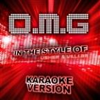 O.M.G (In The Style Of Usher & Will.I.Am) [karaoke Version] - Single