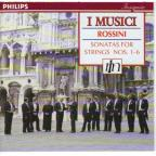 Rossini: Sonatas for Strings nos 1-6 / I Musici
