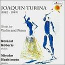 Turina: Works for Violin & Piano