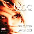 Lyric: Orchestral Songs