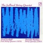 Fred Lerdahl: First String Quartet; Donald Martino: String Quartet