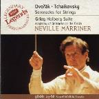 Dvorak, Tchaikovsky: Serenades For Strings; Grieg: Holberg Suite