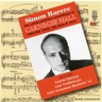 Simon Barere - Live Recordings At Carnegie Hall Vol 2 - 1947