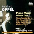 Reinhard Oppel: Piano Music, Vol. 1