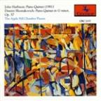 John Harbison: Piano Quintet (1981); Dimitri Shostakovich: Piano Quintet in G minor, Op. 57