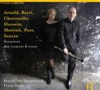 Arnold, Bacri, Chevreuille, Horowitz, Martinu, Poot, Sancan: Sonatinas for clarinet & piano