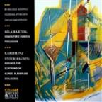 Bartok: Sonata for 2 Pianos;  Stockhausen: Kontakte