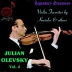 Julian Olevsky, Vol. 4: Violin Favorites by Kreisler & Others