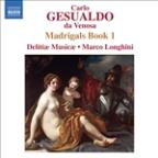 Gesualdo: Madrigals, Book 1