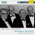 Britten, Schubert: String Quartets