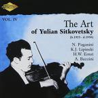 Art of Yulian Sitkovetsky, Vol. 4