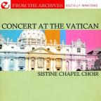 Sistine Chapel Choir in Concert at the Vatican