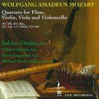 Mozart: Quartets for Flute, Violin, Viola and Violoncello
