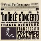 Brahms: Double Concerto / Francescatti, Fournier, Walter