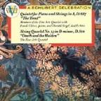 Schubert: Trout Quintet, Death & The Maiden / Fine Arts Qt