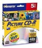 "CD-R - 700MB, 5 Pack ""Picture"""