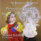 Dukas The Sorcerer's Apprentice; Mussorgsky/Ravel: Pictures at an Exhibition; Milhaud: The Creation