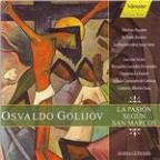 Golijov: St. Mark Passion