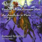 Copland: Rodeo, Fanfae for the Common Man; Gershwin: An American in Paris