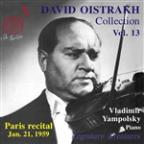David Oistrakh Collection, Vol. 13