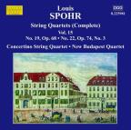 Spohr: Complete String Quartets, Vol. 15