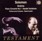 Solomon Plays Brahms