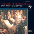Concord Of Sweet Sounds: Baroque And Classical Flute,  Lute And Guitar Music