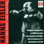 Hanns Eisler: Choral Songs; Children's Songs; Popular Songs